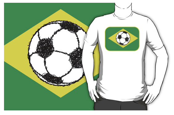 t-shirt, brazil, brazilian, brazilian flag, flag of brazil, football foot ball, soccer, soccer ball, the beautiful game, ball, ball sketch, stylised football, flag, bandeira do brasil