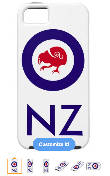 takahe, kiwi, roundel, air force, flag, new zealand, aotearoa, bird, red bird, stylised bird, maori design, koru, iPhone 5/5S Covers