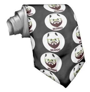Picture, beard, beardo, weird, mustache, panda, panda bear, green glasses, panda wearing glasses, tie
