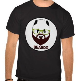 Picture, beard, beardo, weird, mustache, panda, panda bear, green glasses, panda wearing glasses, funny, humorous, weirdo, whiskers, bear wearing glasses, shirts