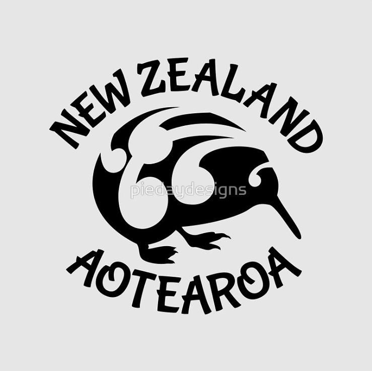 kiwi, native bird, bird, maori design, koru, endemic, new zealand, aotearoa, black, pacifica, vector, new zealand birds, maori inspired design, new zealand inspired design, birds