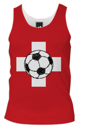 football, soccer, singlet, swiss, switzerland, swiss flag, ball