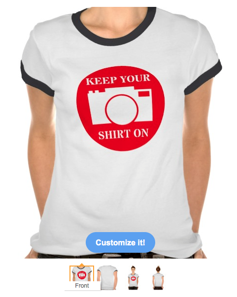 keep your on, hacked, selfie, photos, privacy, funny, humour, camera, modisty, tee shirts