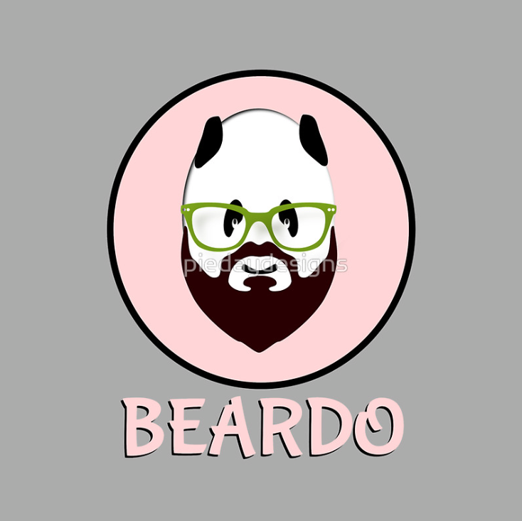 beard, wierd, beardo, whiskers, mustache, panda, bear, bear wearing glasses, black and white, funny, weirdo, hairy, panda waring glasses, humorous, pink circle, pink spot, hipster, hip, panda wearing green glasses, green glasses, glasses, hipster glasses, beard glasses