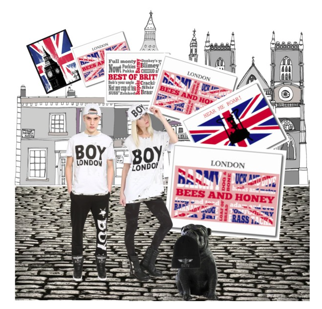 polyvore, cockney, slang, rhyming slang, union jack, british flag, boy ...