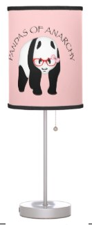 Pandas of Anarchy by Piedaydesigns  See other Panda Lamp