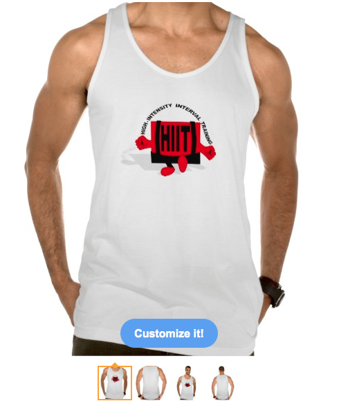 hiit, h i i t, high intensity interval training, training, workout, gym, motivation, gym motivation, typography, cross training, skipping, red man, tanks, t-shirt