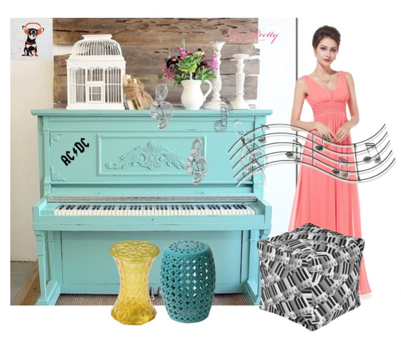 polyvore, collage, piano, music, modern classic