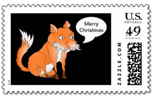Make the fox say anything stamp by mailboxdisco
