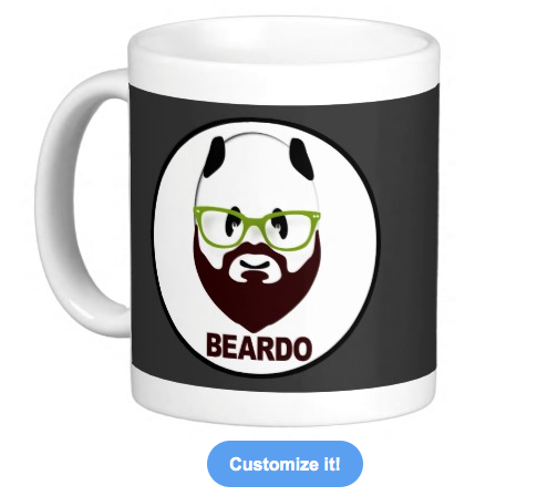 beard, wierd, beardo, whiskers, mustache, panda, bear, bear wearing glasses, black and white, funny, weirdo, hairy, panda waring glasses, humorous, mugs, hipster