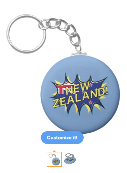 new zealand, kiwi, flag, flag of new zealand, new zealand flag, starburst, kapow, aotearoa, red white blue, union jack, keychains