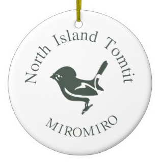 bird, tomtit, miromiro, koru, new zealand, kiwi design, new zealand design, maori design, north island, maori, ornament