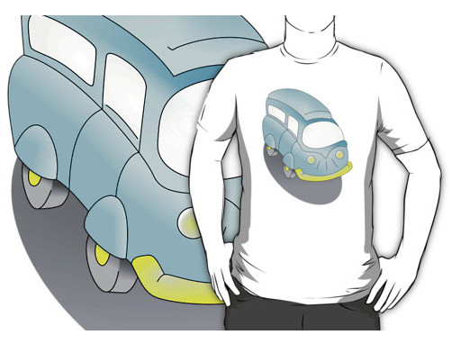 pie day designs, t-shirt, kombi van, camper van, camping, camper, r v, blue van, cartoon van, art for kids, caravan, holiday, retro, transport