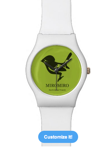 bird, new zealand, native, endangered species, endangered birds, koru, aotearoa, maori, tomtit, miromiro, kiwi design, maori design, endemic species, endemic, traditional, black, birds, pacifica, stylized, Watches